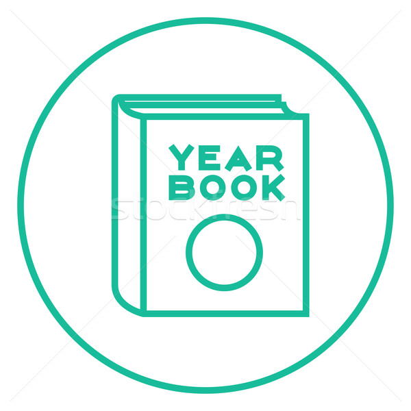 Yearbook line icon. Stock photo © RAStudio