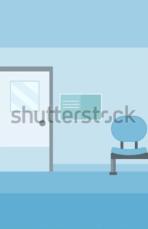 Background of hospital corridor. Stock photo © RAStudio