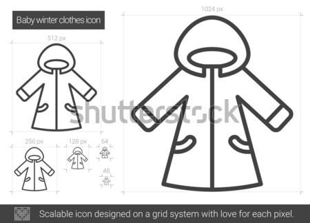 Hoodie sketch icon. Stock photo © RAStudio