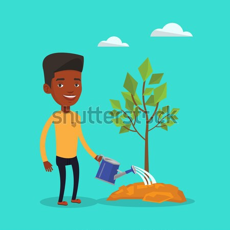 Сток-фото: деловой · женщины · деревья · деловая · женщина · два · дерево