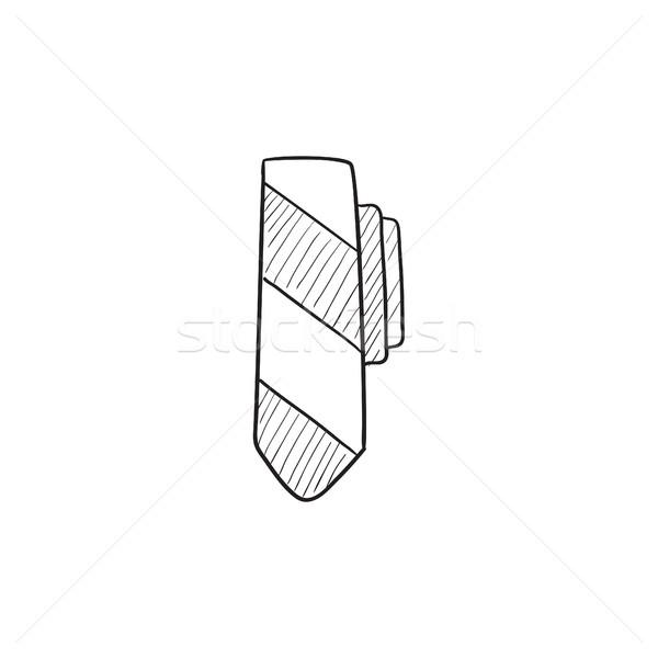 Tie sketch icon. Stock photo © RAStudio