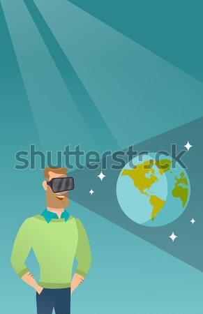 Two technology banners with space for text. Stock photo © RAStudio