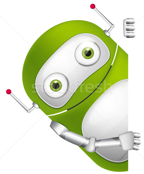 Stock photo: Cute Robot