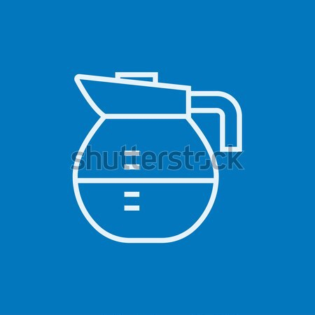 Carafe line icon. Stock photo © RAStudio