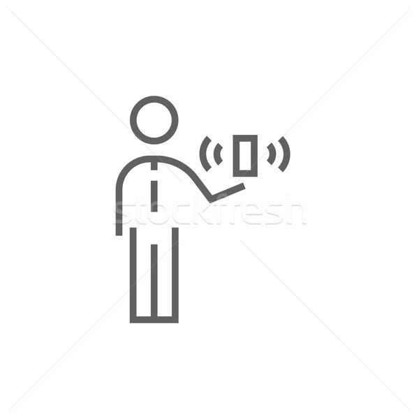モビリティ 行 アイコン コーナー ウェブ 携帯 ストックフォト © RAStudio
