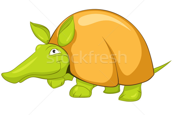 Cartoon Character Armadillo Stock photo © RAStudio