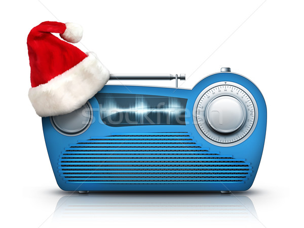 Christmas Radio stock photo © Andrei Krauchuk (RAStudio) (#485852 ...