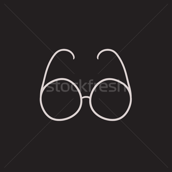 Eyeglasses sketch icon. Stock photo © RAStudio