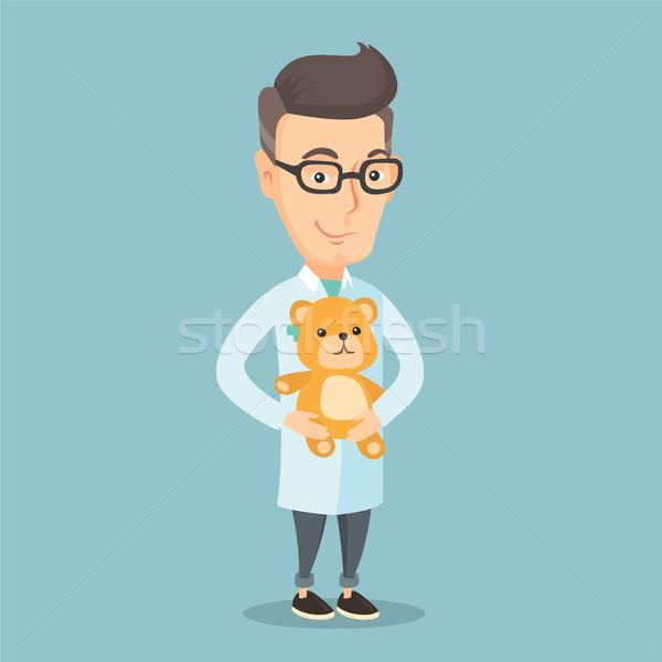 小児科医 医師 テディベア 白人 医療 ストックフォト © RAStudio