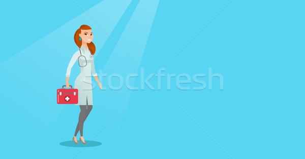 医師 応急処置 ボックス 白人 医療 ストックフォト © RAStudio