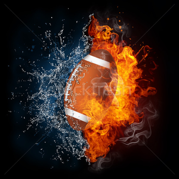 Football Ball Stock photo © RAStudio