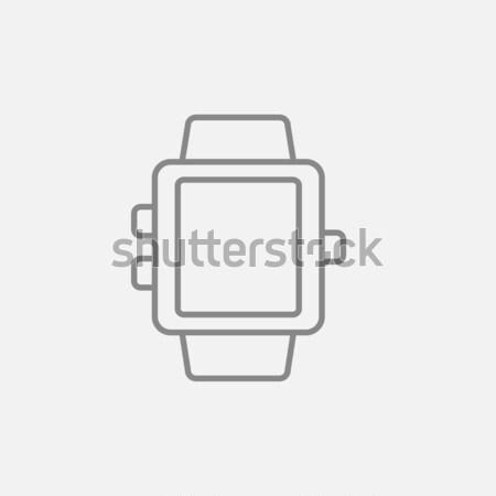 行 アイコン ウェブ 携帯 インフォグラフィック ベクトル ストックフォト © RAStudio