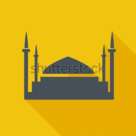Taj Mahal sketch icon. Stock photo © RAStudio