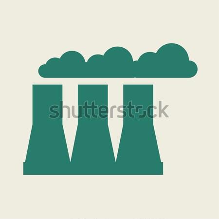 Eco Flat Icon Stock photo © RAStudio