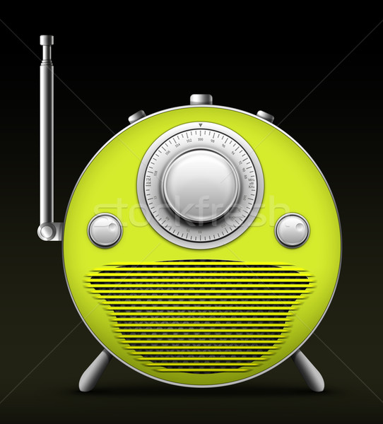 Red Radio Stock photo © RAStudio