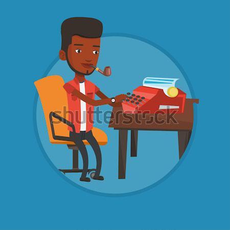 学生 書く デスク アフリカ 座って 表 ストックフォト © RAStudio