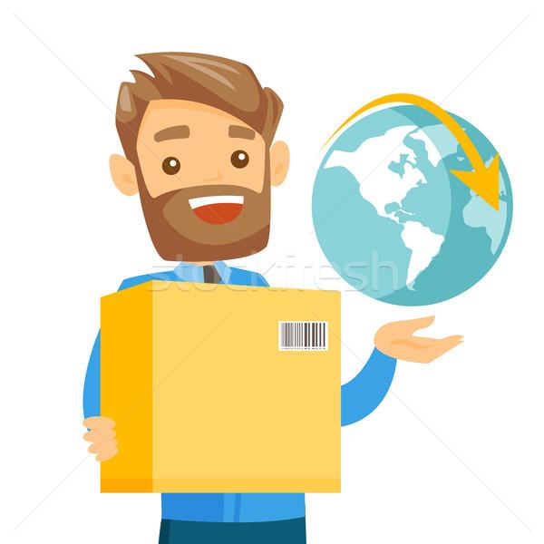 ビジネス ワーカー 国際 配信 サービス 小さな ストックフォト © RAStudio