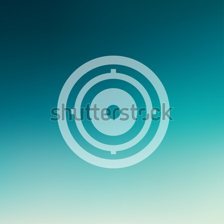 Icon schaduw vector eps 10 ontwerp Stockfoto © RAStudio