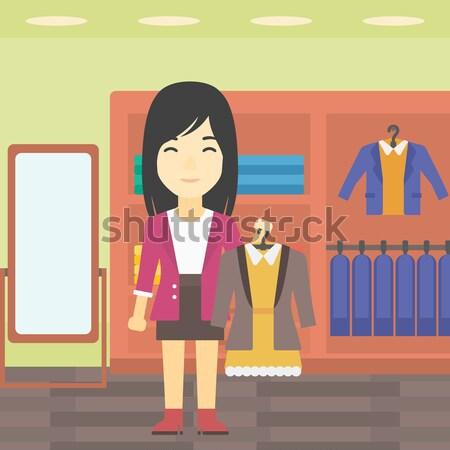 Prazo de entrega zangado patrão em pé escritório indicação Foto stock © RAStudio