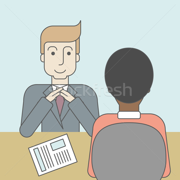 Job interview. Stock photo © RAStudio