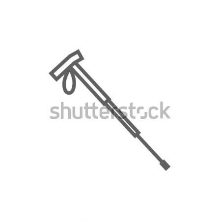 походов полюс линия икона веб мобильных Сток-фото © RAStudio