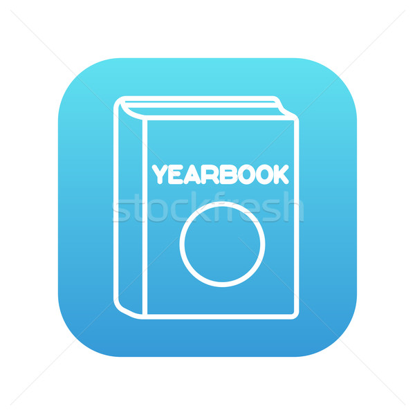 Yearbook line icon. Stock photo © RAStudio
