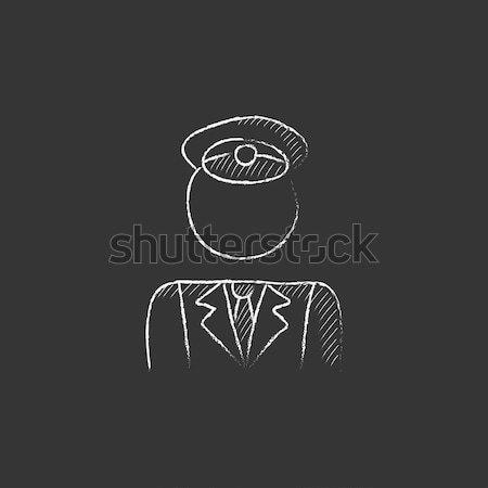 Conductor line icon. Stock photo © RAStudio