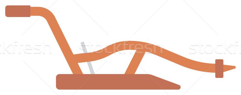 Agricole manuel vecteur design illustration isolé Photo stock © RAStudio