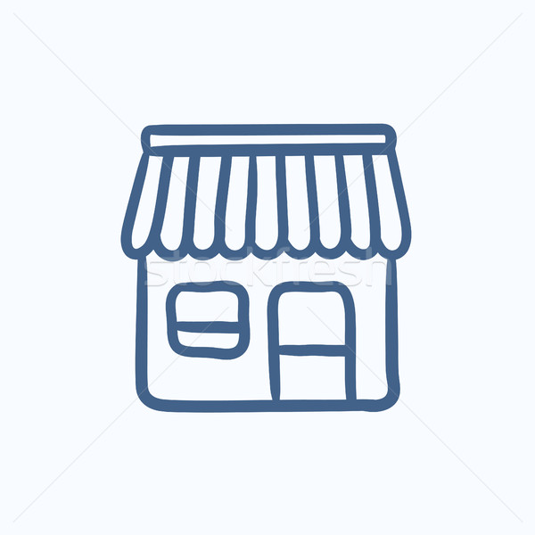 Shop sketch icon. Stock photo © RAStudio