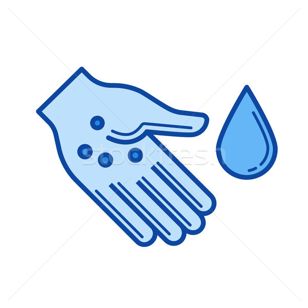 Sanitation line icon. Stock photo © RAStudio