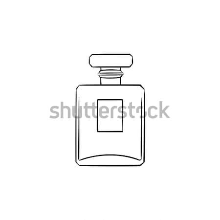 Perfume hand drawn sketch icon. Stock photo © RAStudio
