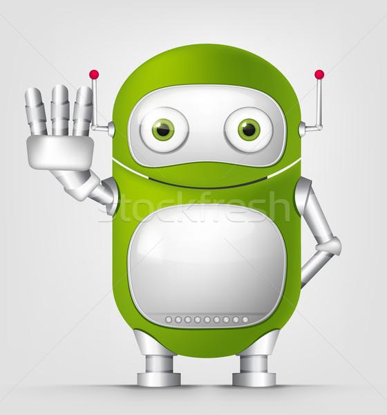 Cute Robot Stock photo © RAStudio