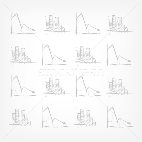 Graph Down Stock photo © RAStudio
