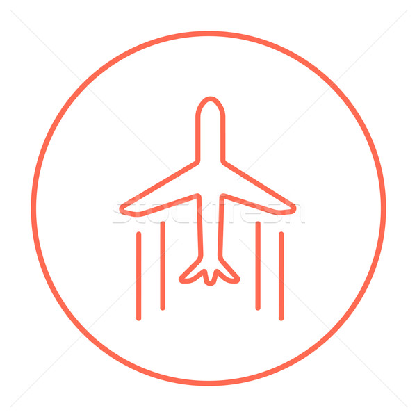 Cargo plane line icon. Stock photo © RAStudio