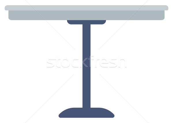 Round bar table. Stock photo © RAStudio