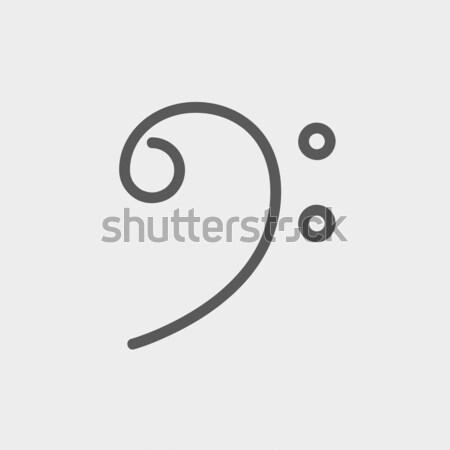 行 アイコン コーナー ウェブ 携帯 ストックフォト © RAStudio