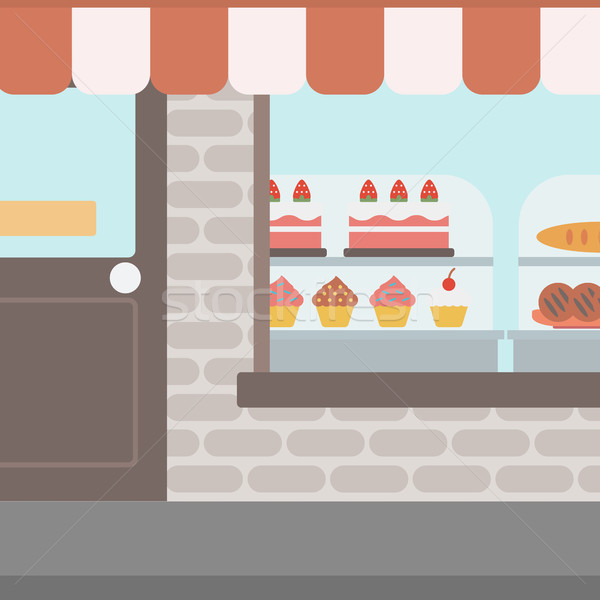 Background of bakery. Stock photo © RAStudio