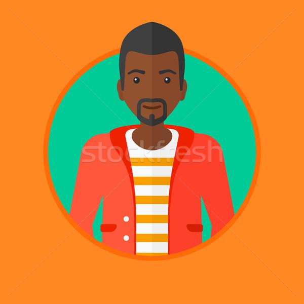 Confident young businessman vector illustration. Stock photo © RAStudio