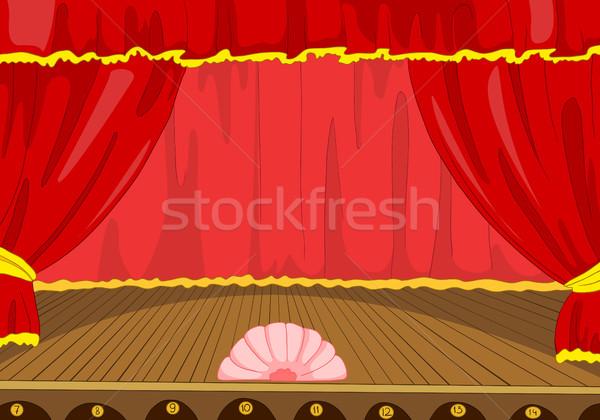 漫画 劇場 ステージ 手描き 空っぽ コンサート ストックフォト © RAStudio