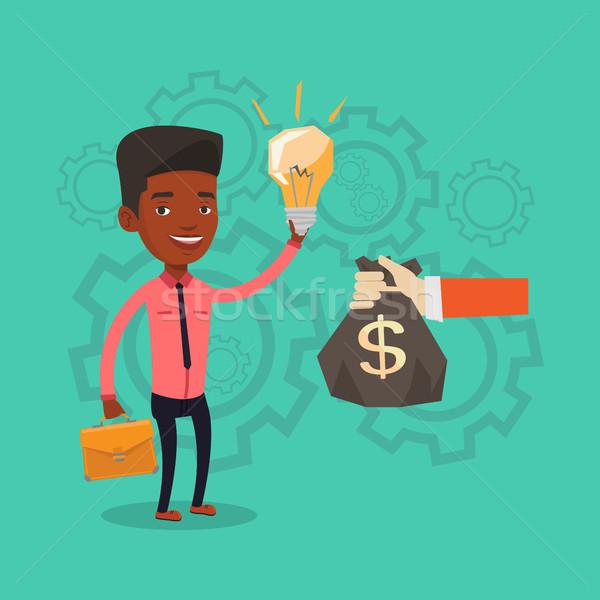 Successful business idea vector illustration. Stock photo © RAStudio