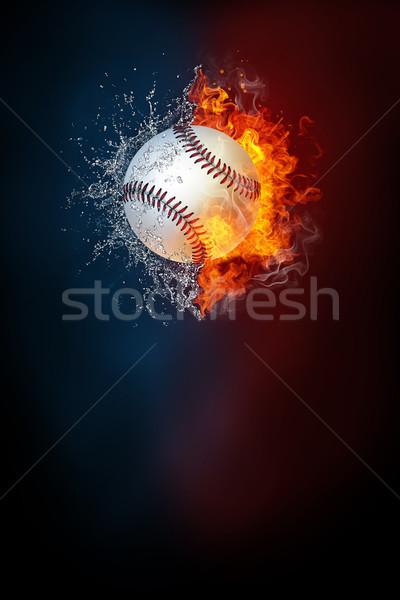 Baseball sport torneo moderno poster modello Foto d'archivio © RAStudio