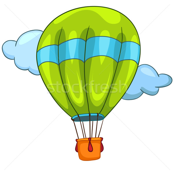 Cartoon Balloon Stock photo © RAStudio