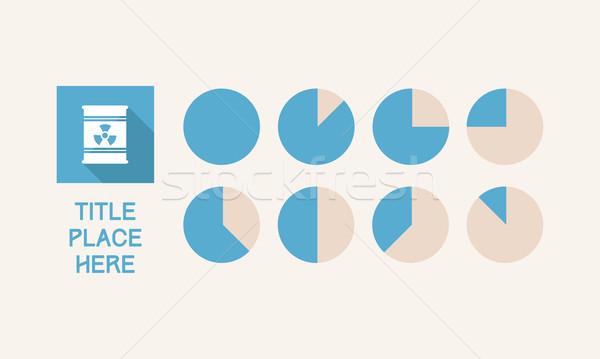 Eps 10 affaires énergie Photo stock © RAStudio