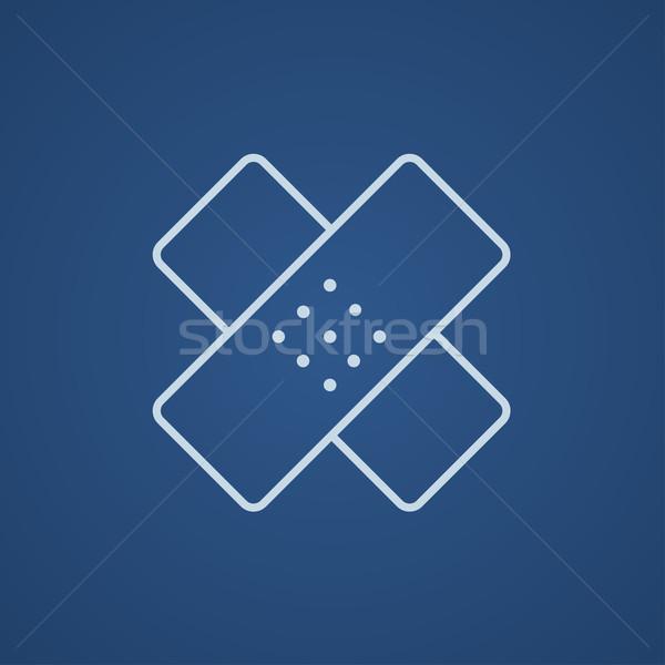 接着剤 行 アイコン ウェブ 携帯 インフォグラフィック ストックフォト © RAStudio