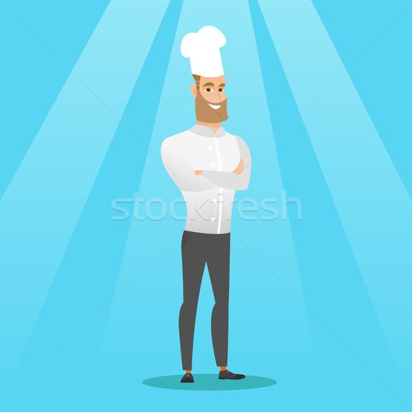 男性 チーフ 調理 白人 ストックフォト © RAStudio