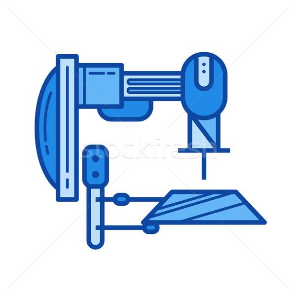 Machine tool line icon. Stock photo © RAStudio