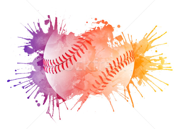 Baseball ball Stock photo © RAStudio