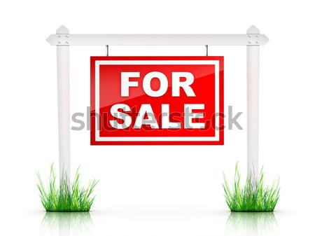 Sign - For Lease Stock photo © RAStudio