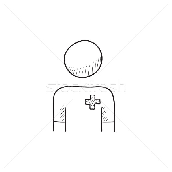 Nurse sketch icon. Stock photo © RAStudio