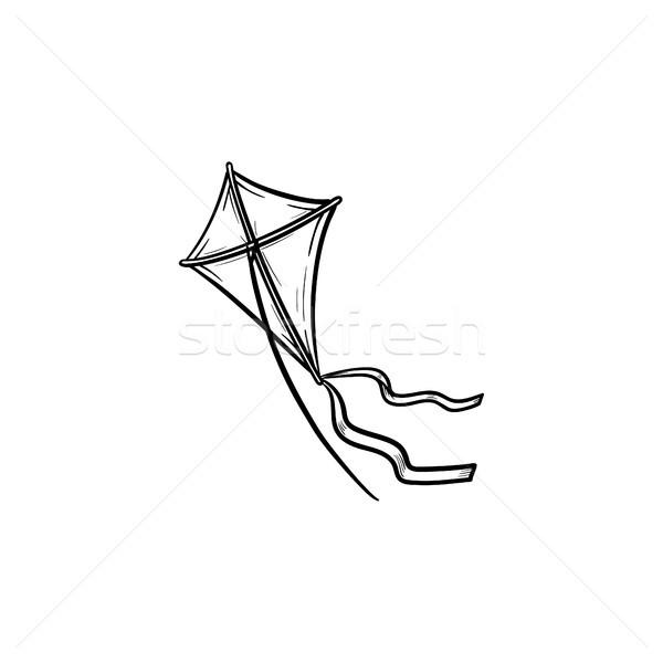 Pipa esboço ícone rabisco Foto stock © RAStudio